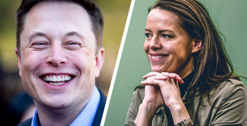 """Techprofilens hyllning till Elon Musk: """"Det andra alternativet är en klimatkollaps"""""""