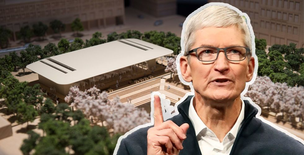 Apple ger upp slaget om Kungsträdgården – vill sälja fastigheten