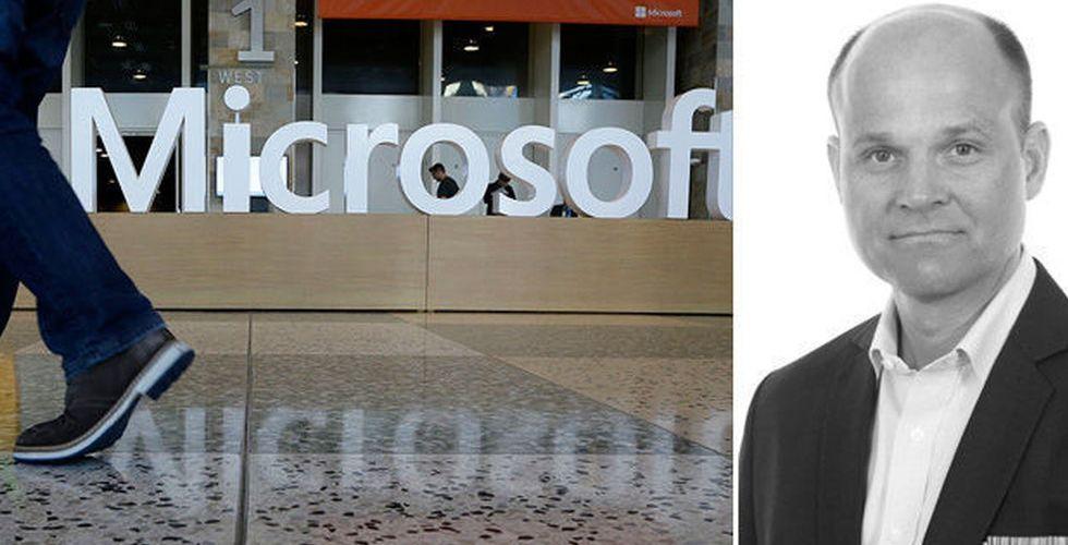 Breakit - Ericsson-chef landar nytt jobb som Sverige-vd hos Microsoft