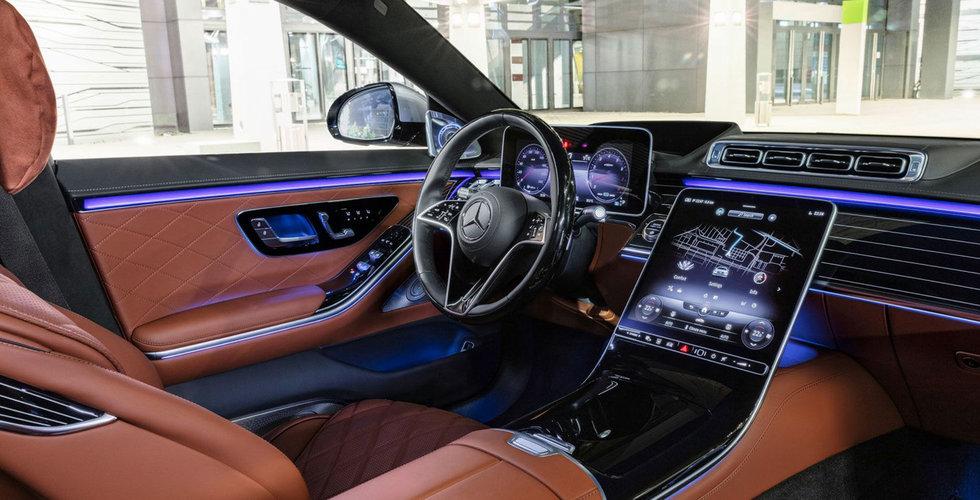 Uppkopplad lyxkänsla på vägarna – här är 9 tech-smarta lösningar i Mercedes nya S-Klass