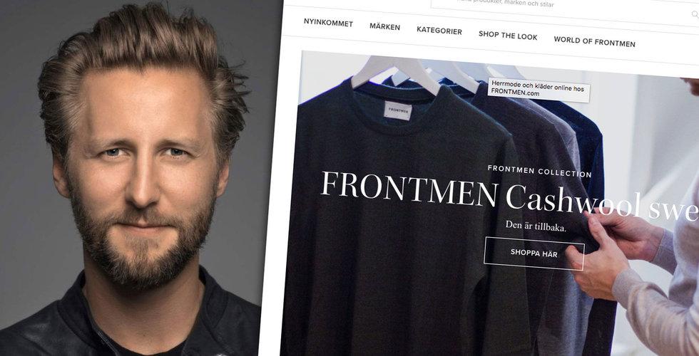 Modeprofilens sajt Frontmen köps upp av börsnoterade klädkedjan RNB