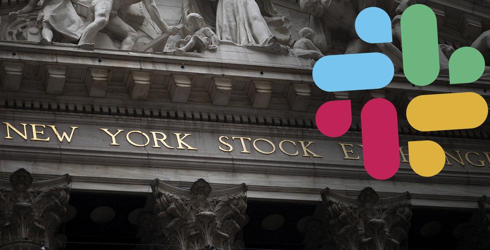 Slacks aktie rusade, handelsstoppades och föll – på grund av en rubrik