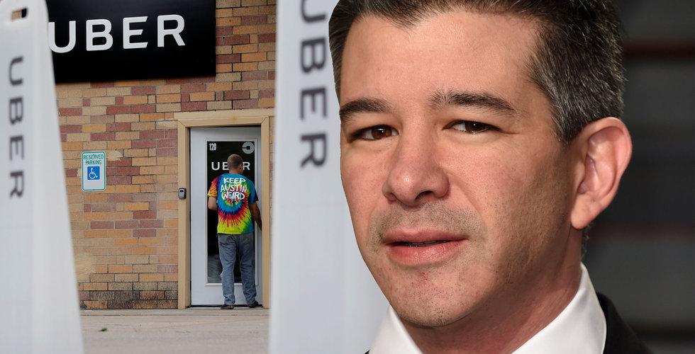 Travis Kalanick lämnar styrelsen för Uber
