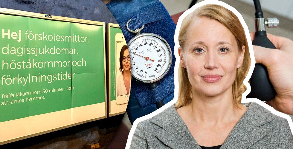 Kry spenderar miljoner på att locka förkylda till läkaren – sågas