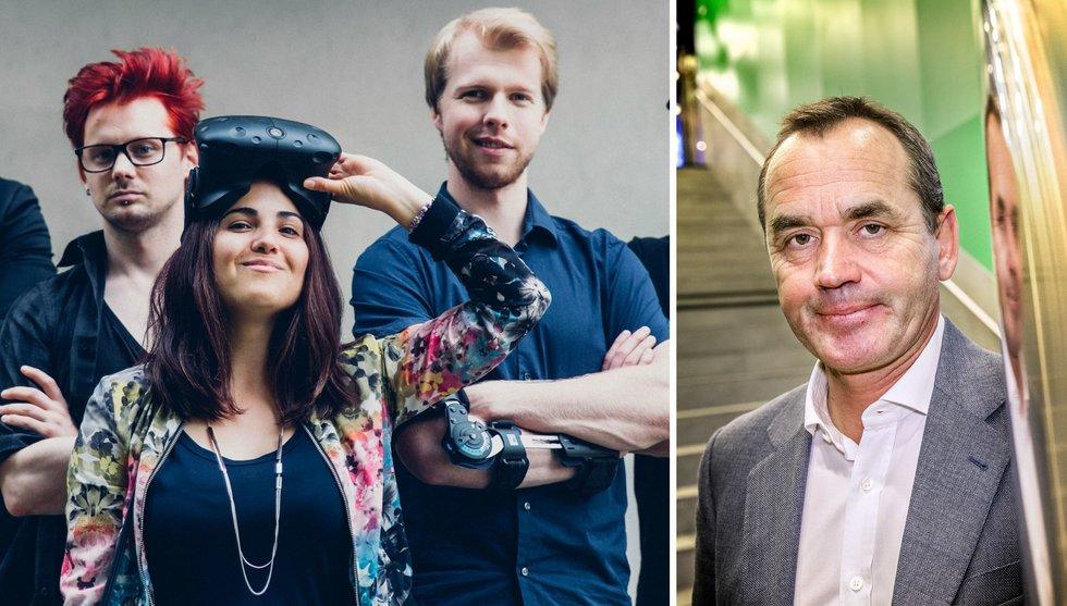 Breakit - Familjen Lundin investerar i VR-startup genom hemligt bolag