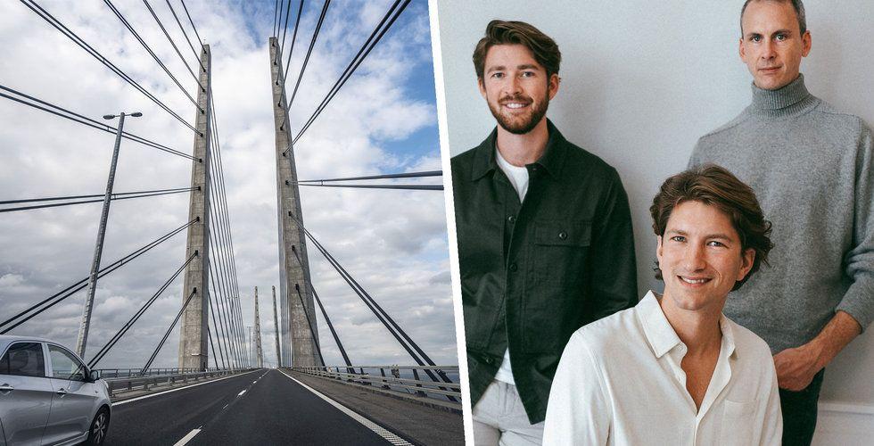 Hedvig tar sig över bron – går in i Danmark i dag