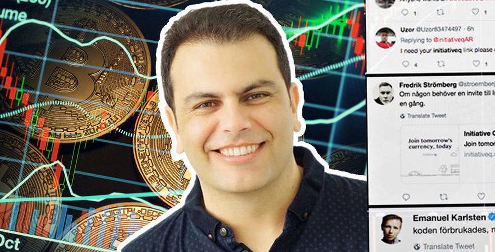 """Initiative Q lovar gratis pengar – jättebluff eller """"nästa bitcoin""""?"""