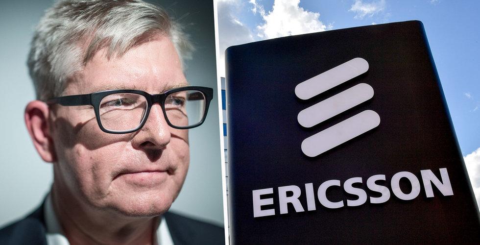 Ericssons resultat lägre än förväntat