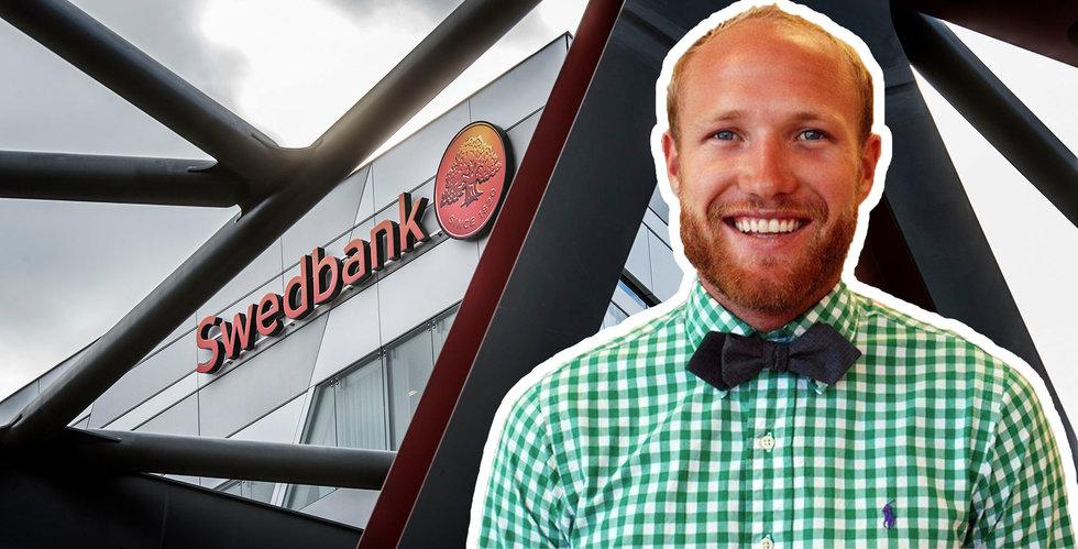 Swedbank och Sprinklebits avslutar samarbetet efter mindre än två år