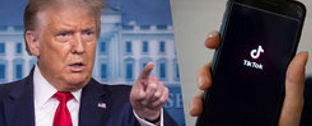 Trump inte redo att underteckna Oracles avtal med Tiktok - ska granska avtalet idag