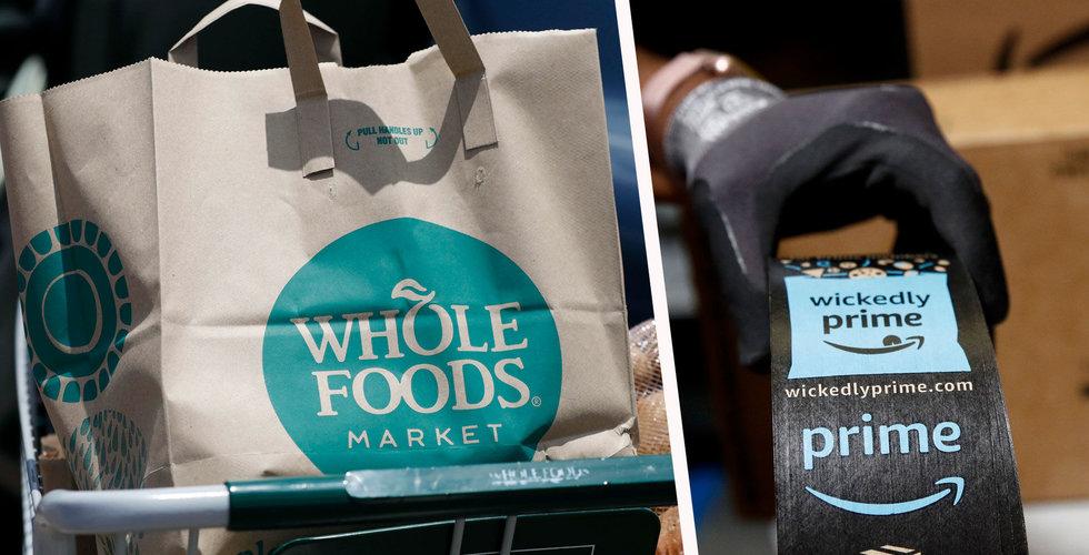 Breakit - Amazons nya snabbsatsning – ska leverera mat från Whole foods inom två timmar