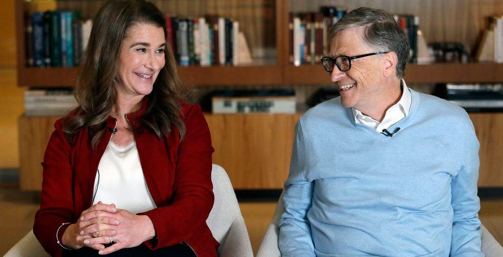 Microsoft-grundaren Bill Gates skiljer sig efter 27 år