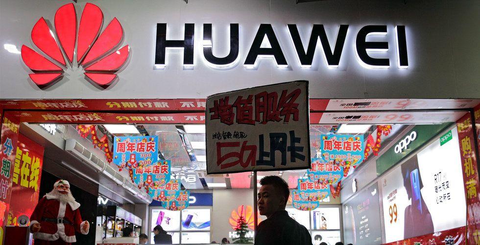 Temporärt undantag för Huawei