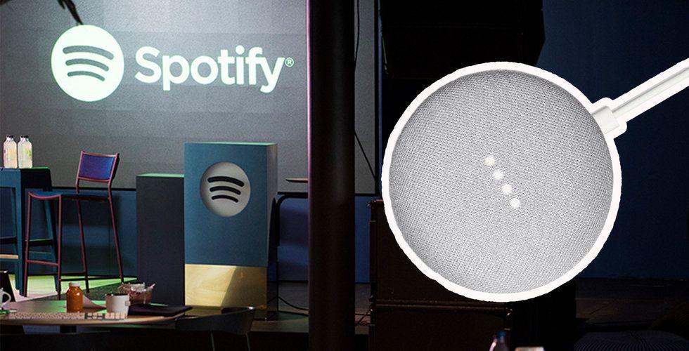 Spotify-kunder i USA erbjuds kostnadsfri Google Home Mini