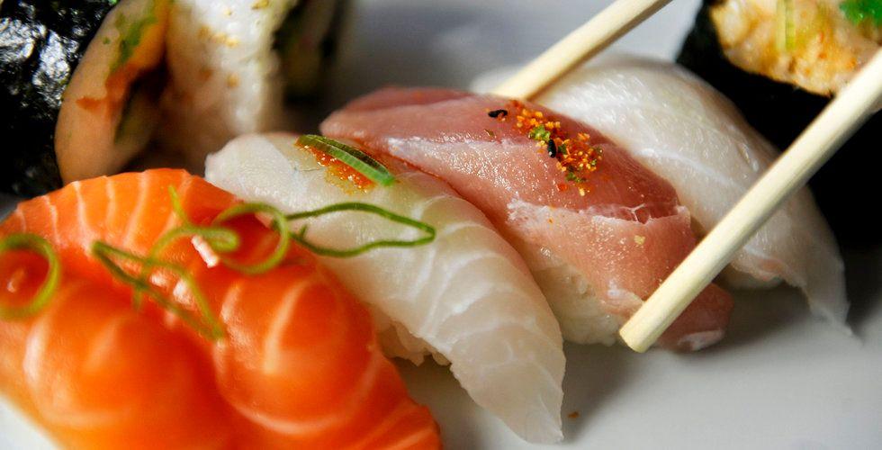 Jättens oväntade drag: sushi
