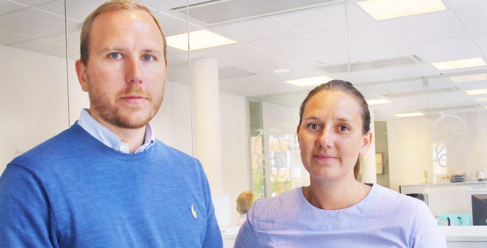 Tungviktare går in i svensk e-handelssuccé