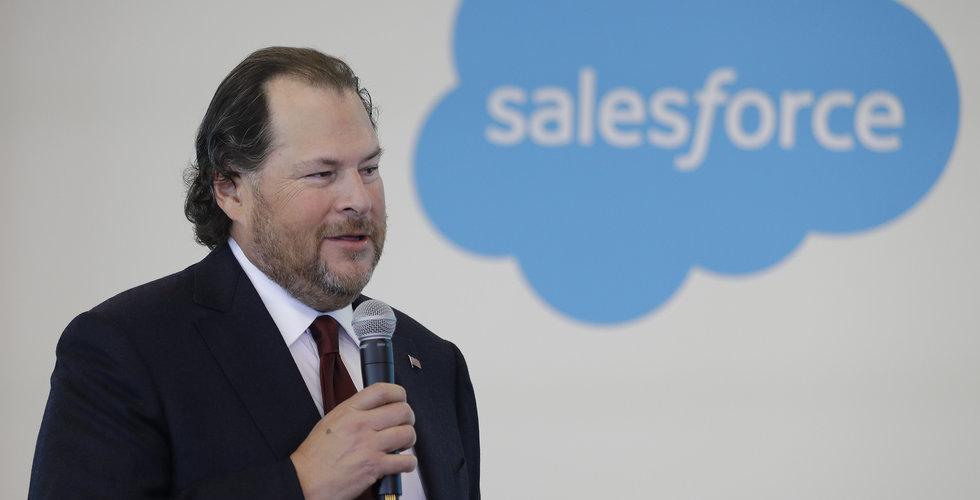 Salesforce lanserar ny impact-fond på 100 miljoner dollar