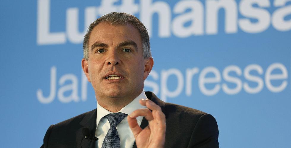 Lufthansa-chefen uppger att biljetter för under 10 euro är oanvarsfullt
