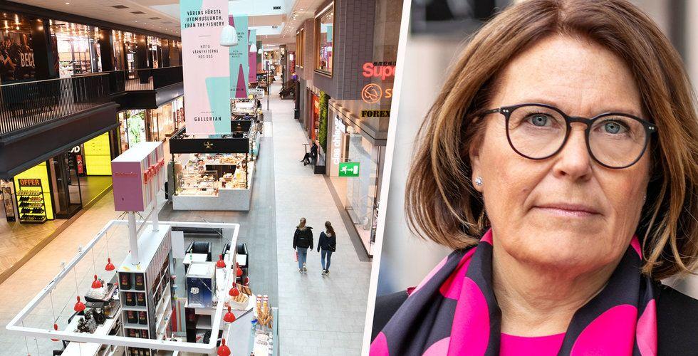 Få har fått sänkt hyra – nu varnar Svensk Handel för fler konkurser