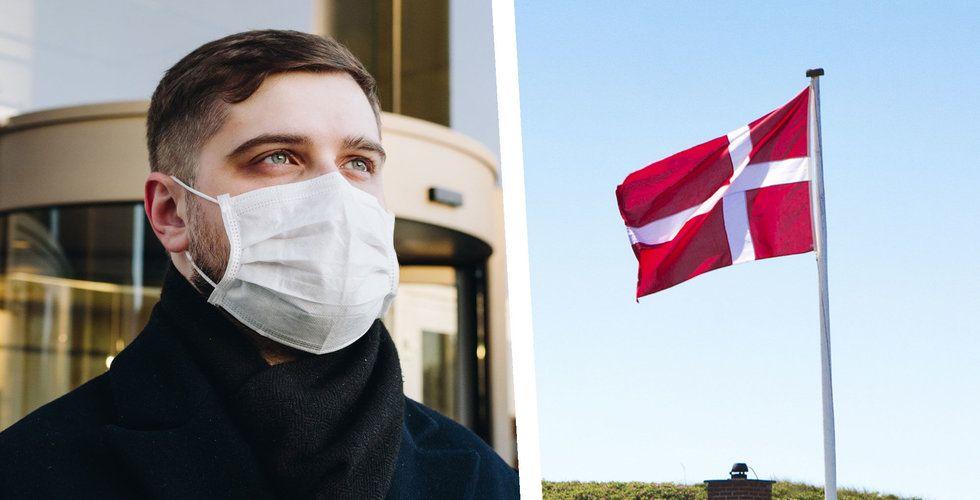 Danmark upphör med samtliga coronarestriktioner från 10 september