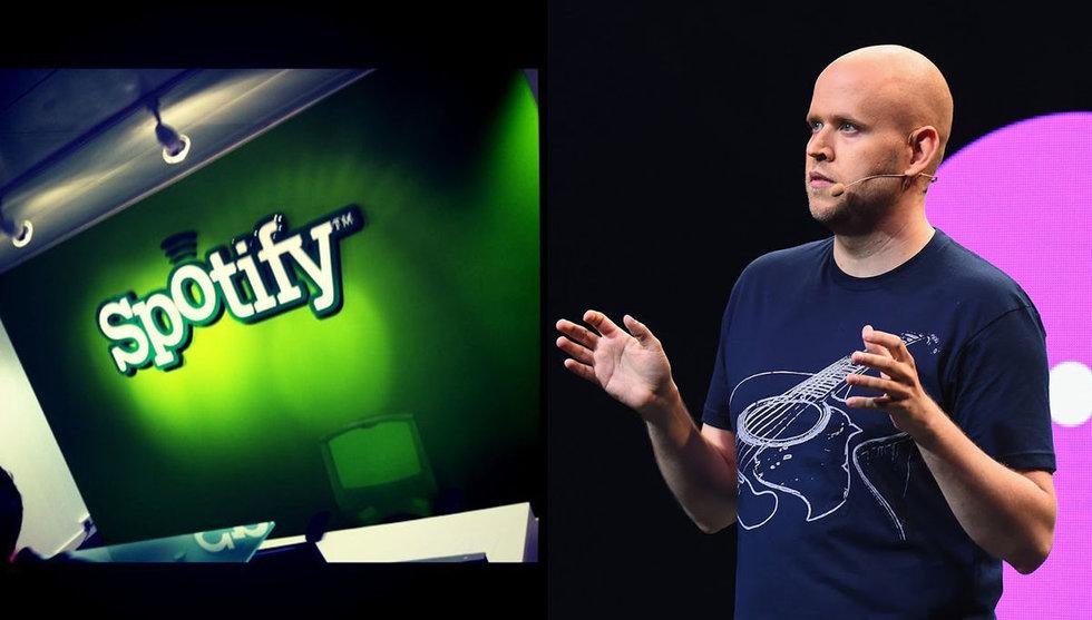 Breakit - Uppgifter: Spotify i diskussioner om att låsa in ny musik