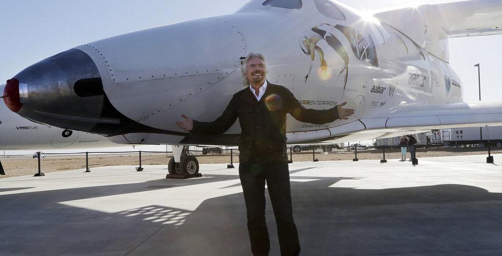 Lyckad testflygning för Virgin Galactic