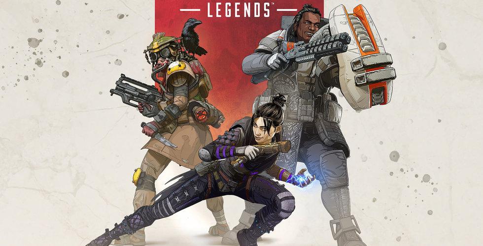 Apex Legends har dragit in 25 miljoner spelare första veckan