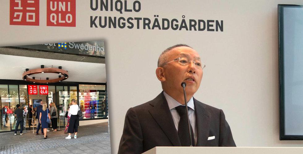 Uniqlo öppnar butik i Stockholm – och vi har spanat in den