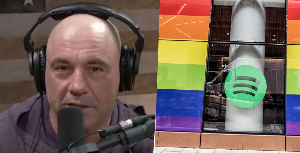 """Joe Rogan uttalar sig om Spotify-kritiken: """"De har inte sagt något"""""""