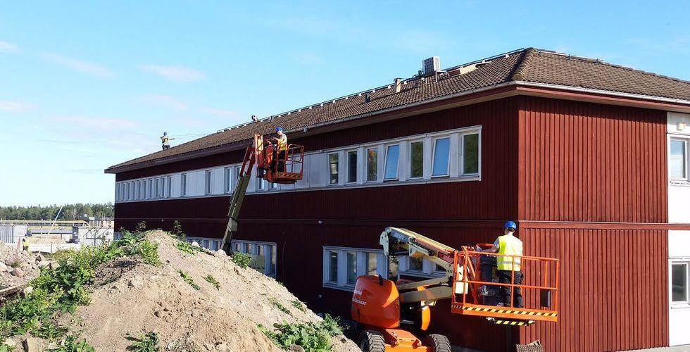 Breakit - Nya KNC-ägaren köpte hus vid Arlanda – flyttade det till Boden