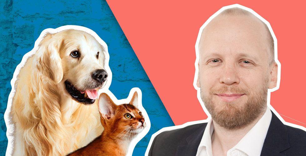 Bossade över elsparkcyklarna – nu ska han förändra veterinärbranschen