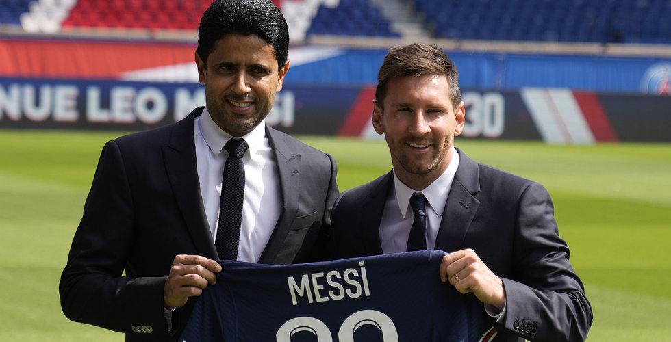 Messi får betalt i kryptovaluta av PSG