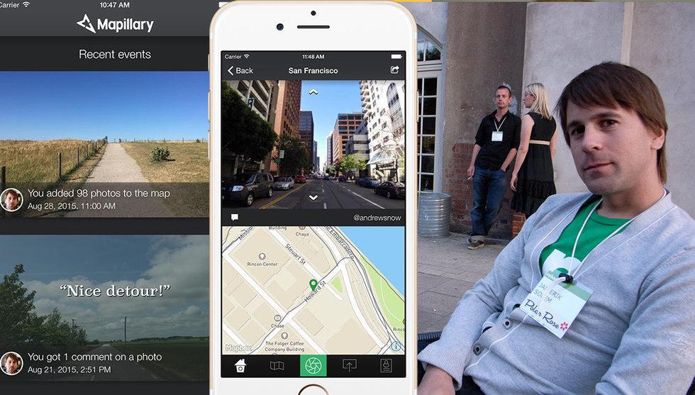 Mapillary tar in 68 miljoner kronor från Atomico och Sequoia