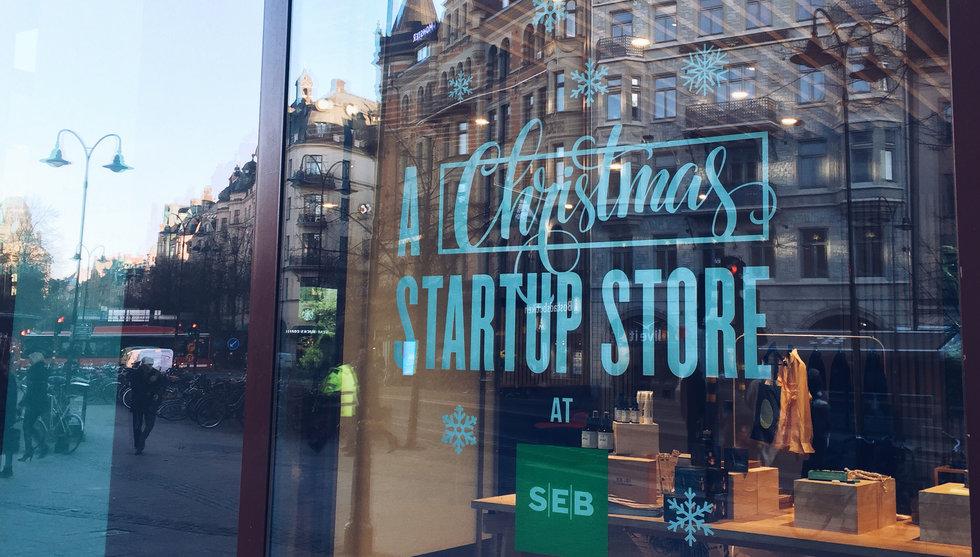Ny butik öppnar inför julhandeln – som bara säljer startup-prylar