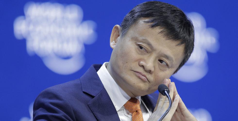 Alibabas grundare Jack Ma tillbaka – har setts offentligt igen