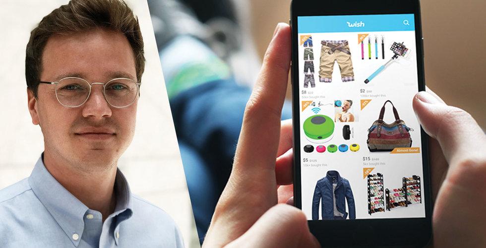 Wish nya drag – ska samarbeta med svenska butiker