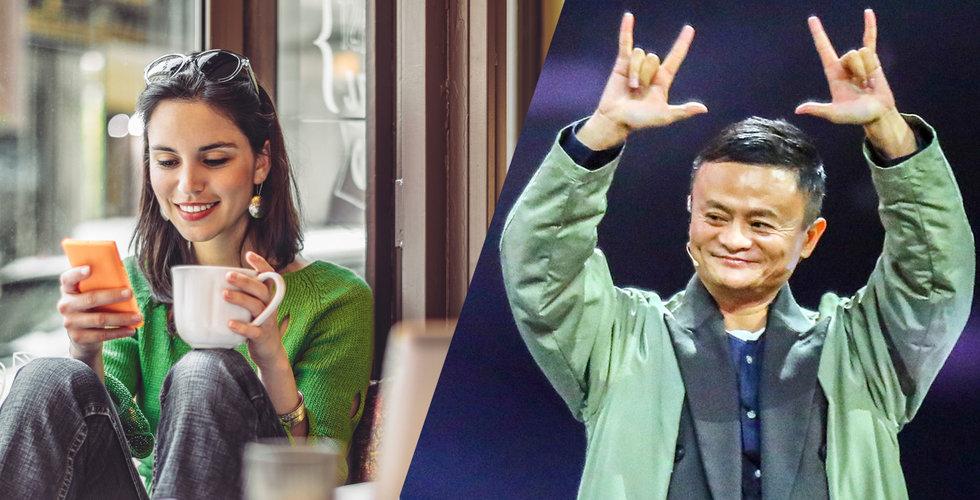 Starbucks stressat i Kina – tar hjälp av Alibaba