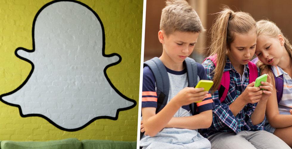 Snapchat ska byggas om – så att fler förstår hur appen funkar
