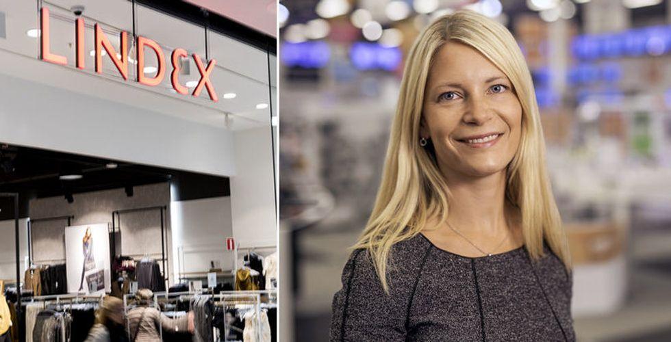 Lindex försäljningsras större än väntat – 20 butiker ska stängas