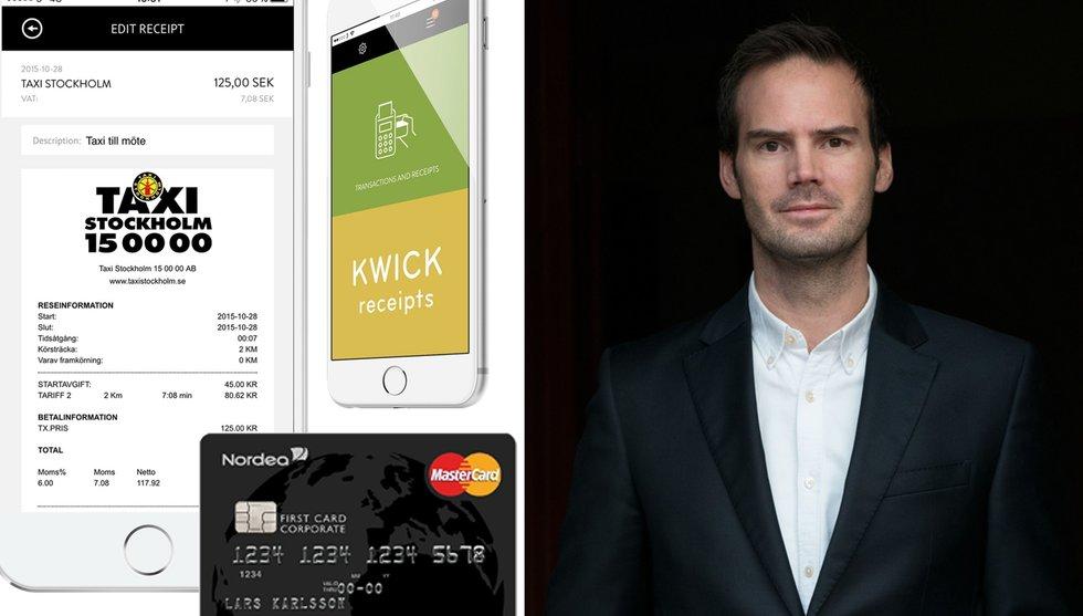 Breakit - Finansprofiler pumpar in kapital i app som vill döda papperskvittot