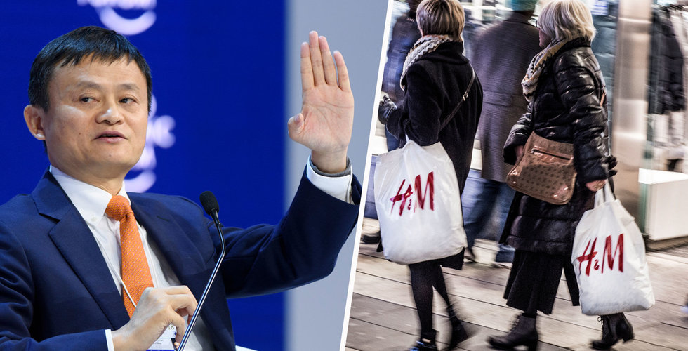 Breakit - Då lanserar H&M på Alibaba