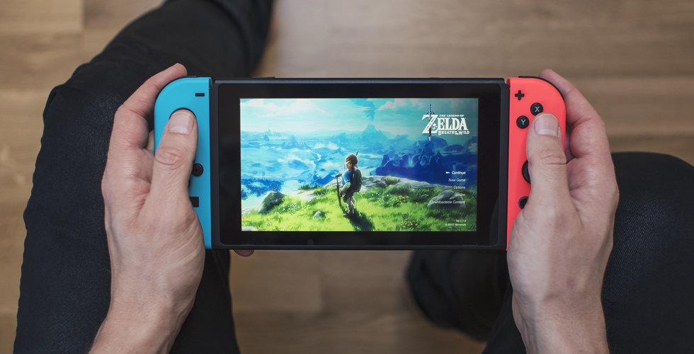 Nintendo siktar på att ha sålt 34 miljoner Nintendo Switch till nästa vår