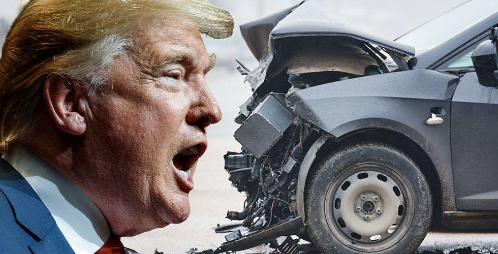 Volvos mardröm blev precis sann – nu vill Trump straffskatta bilar