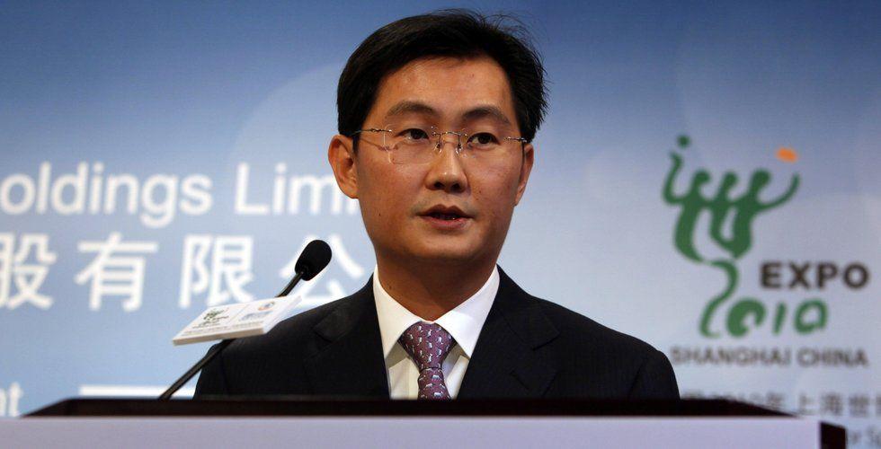 Tencent vill ta in hälften så många miljarder inför notering