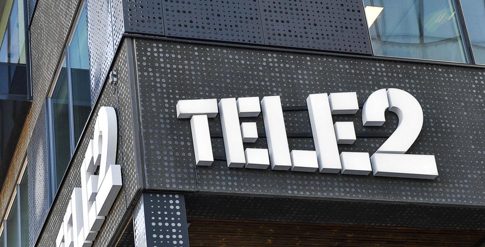 Tele2 rusade efter nyhet – nu handelsstoppas aktien