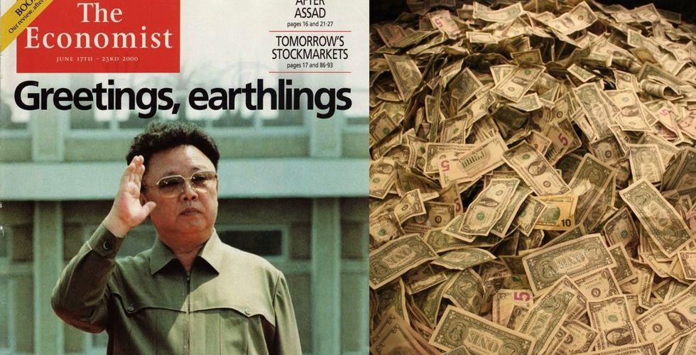 Först Financial Times - nu är även The Economist till salu