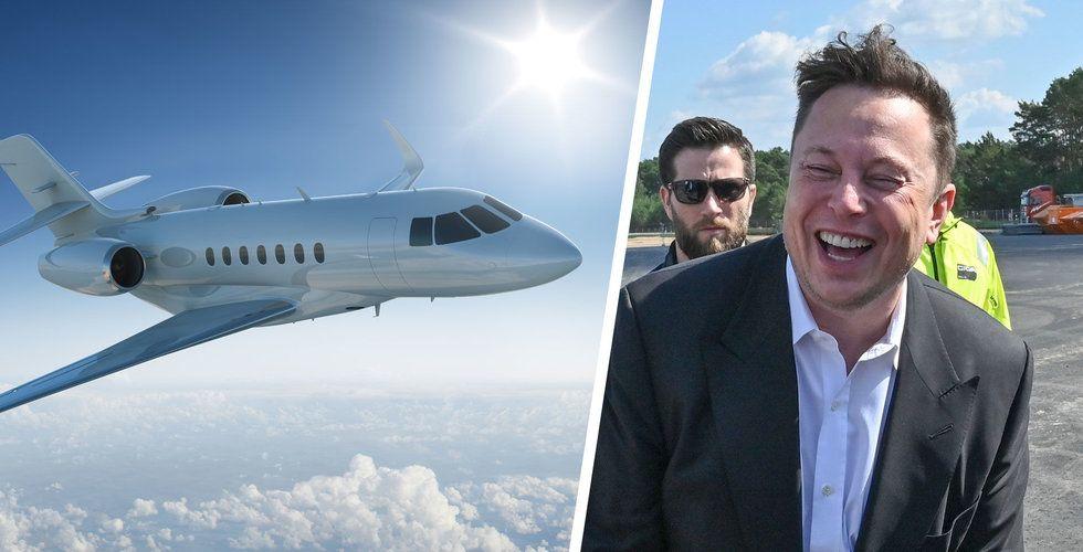 Rykte: Elon Musk till Sverige – landar redan ikväll