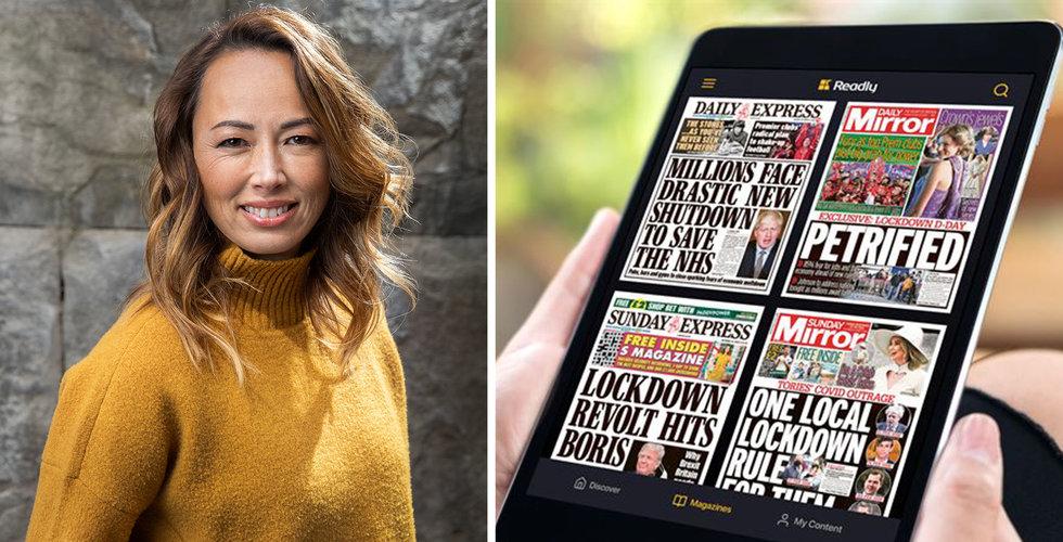 Readly utökar utbudet med brittiska dagstidningar