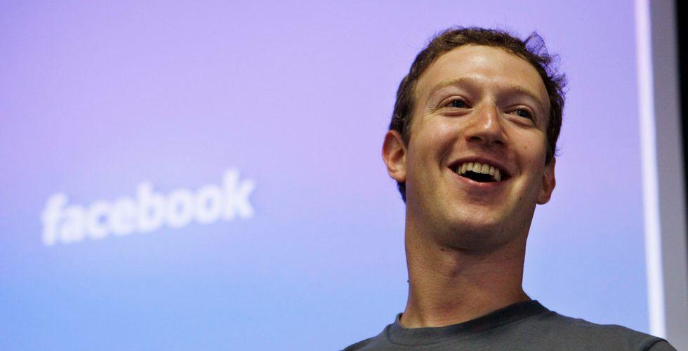 Breakit - Ny stark rapport från Facebook - aktiekursen upp till rekordnivå