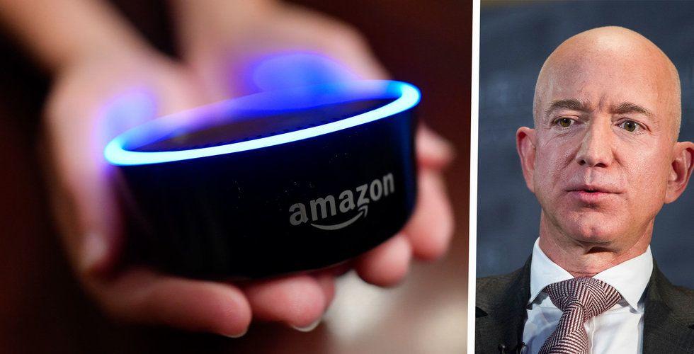 Amazon lyssnar på Alexa-användare